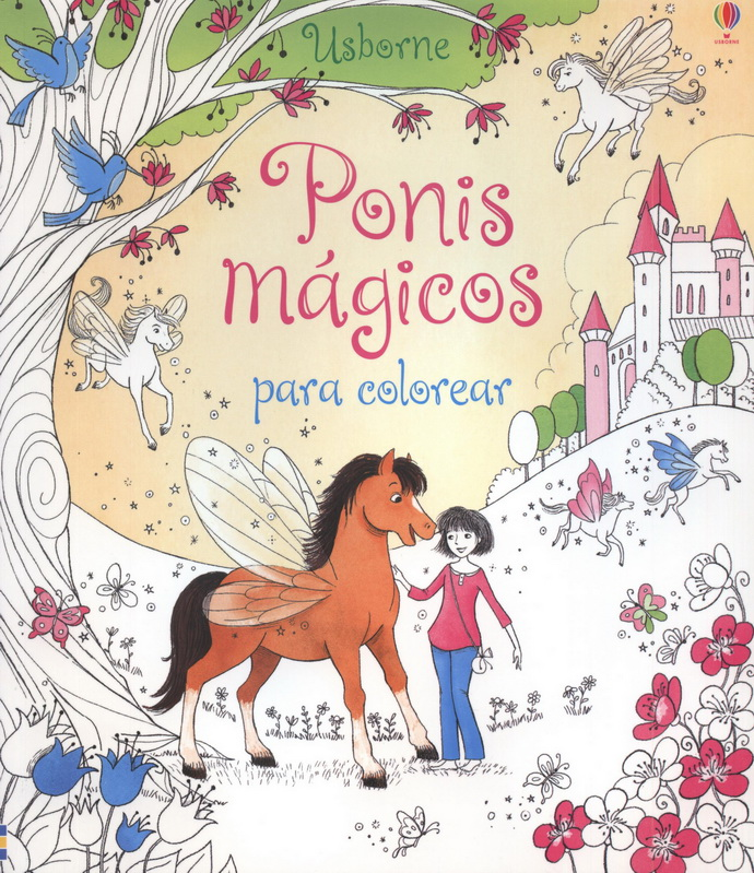 Ponis mágicos para colorear - Editorial Océano