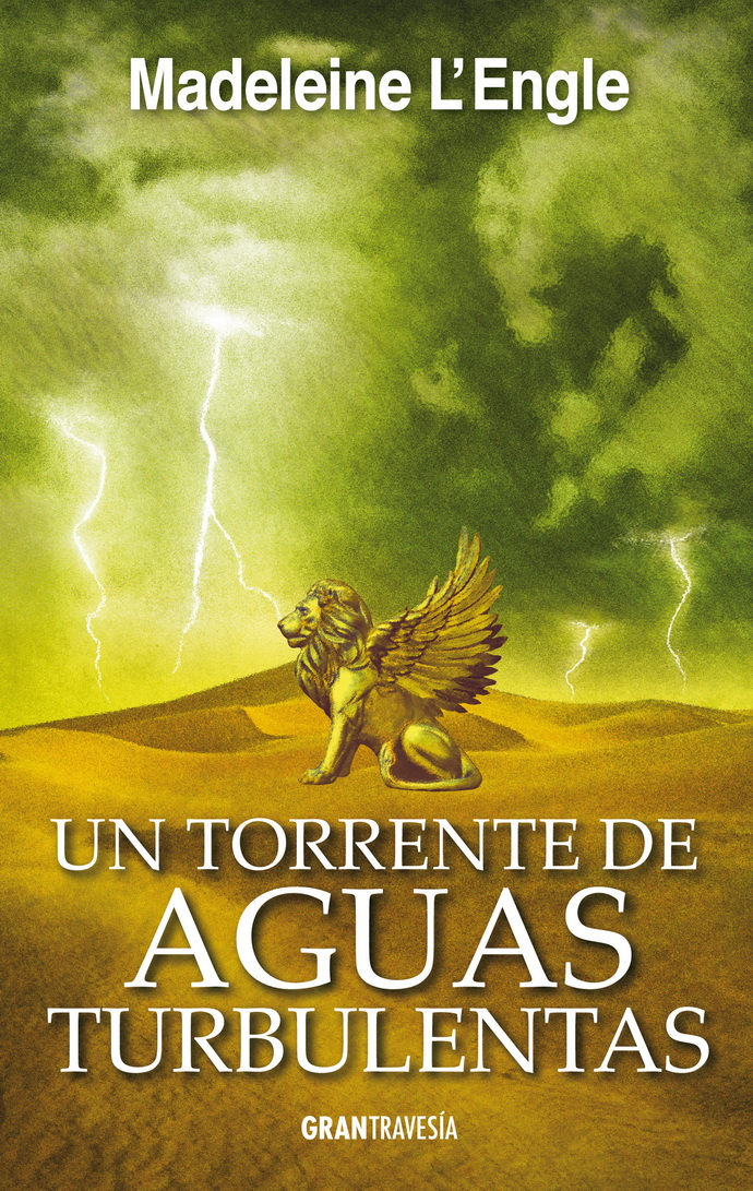 Un torrente de aguas turbulentas