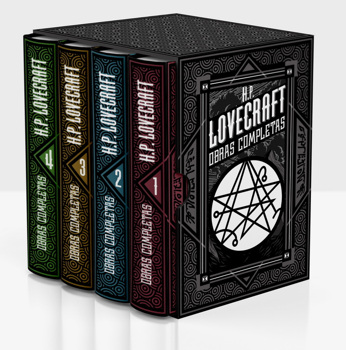 H.P. Lovecraft. Obras completas (4 vol.)