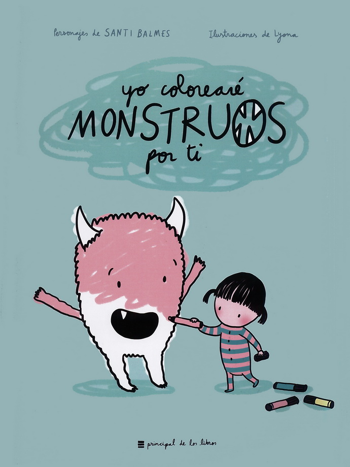 Yo colorearé monstruos por ti (libro para colorear)
